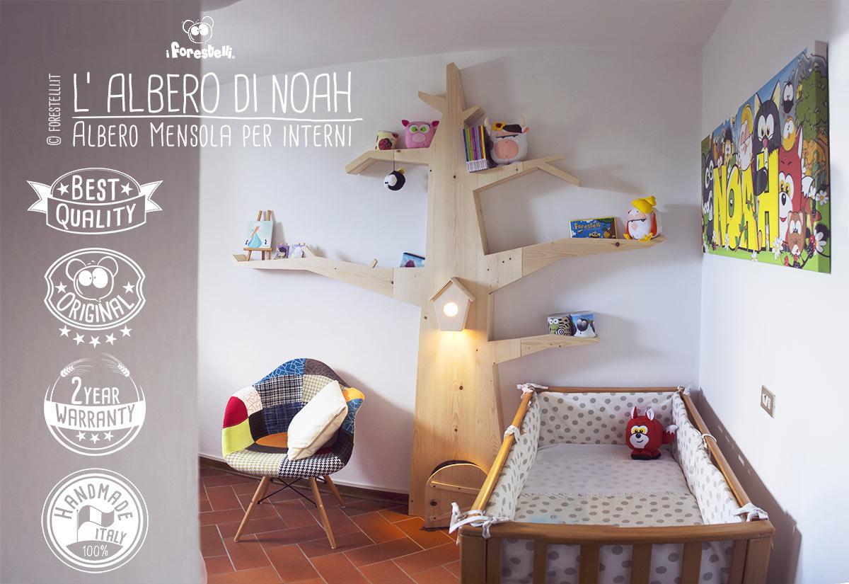 Librerie Per Camerette Bambini albero di noah