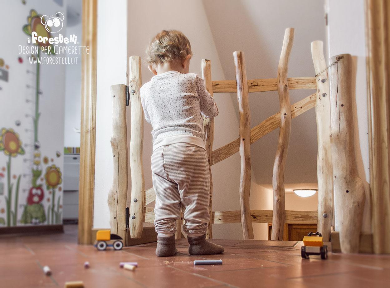 Ringhiera Scala Fai Da Te cancelletto per bambini fai da te: sicurezza e protezione