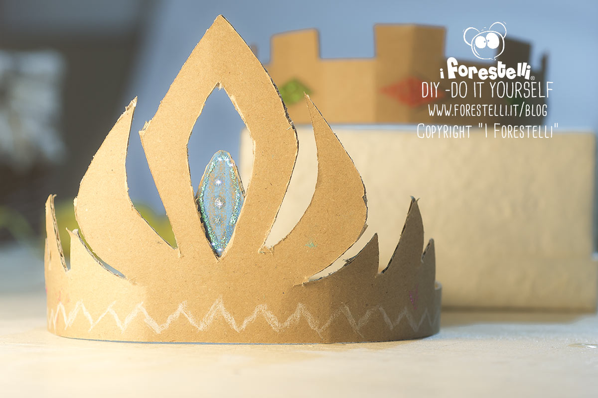 Corone Di Cartone Delle Principesse Disney Tutorial Diy