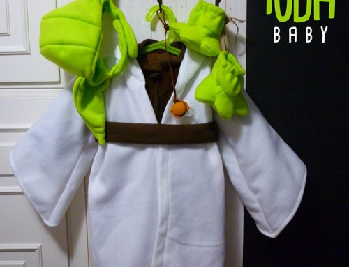 How to Make Master Yoda Costume for your Kids