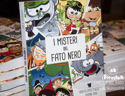 I Misteri del Fato Nero: è uscito il libro illustrato dai Forestelli.