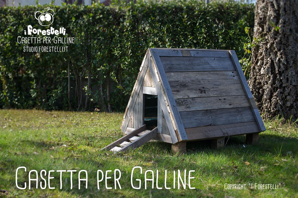 Copertura Giardino Fai Da Te pollaio fai da te: casetta per galline nane del giardino.