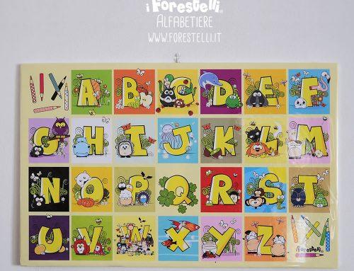 Alfabetiere murale per Bambini.