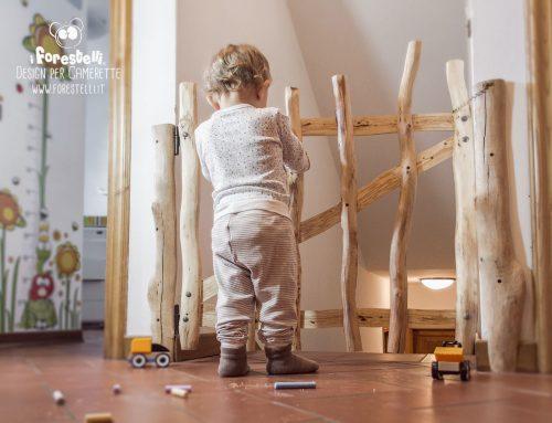 Cancelletto per Bambini Fai da Te: sicurezza per le scale con una protezione originale.