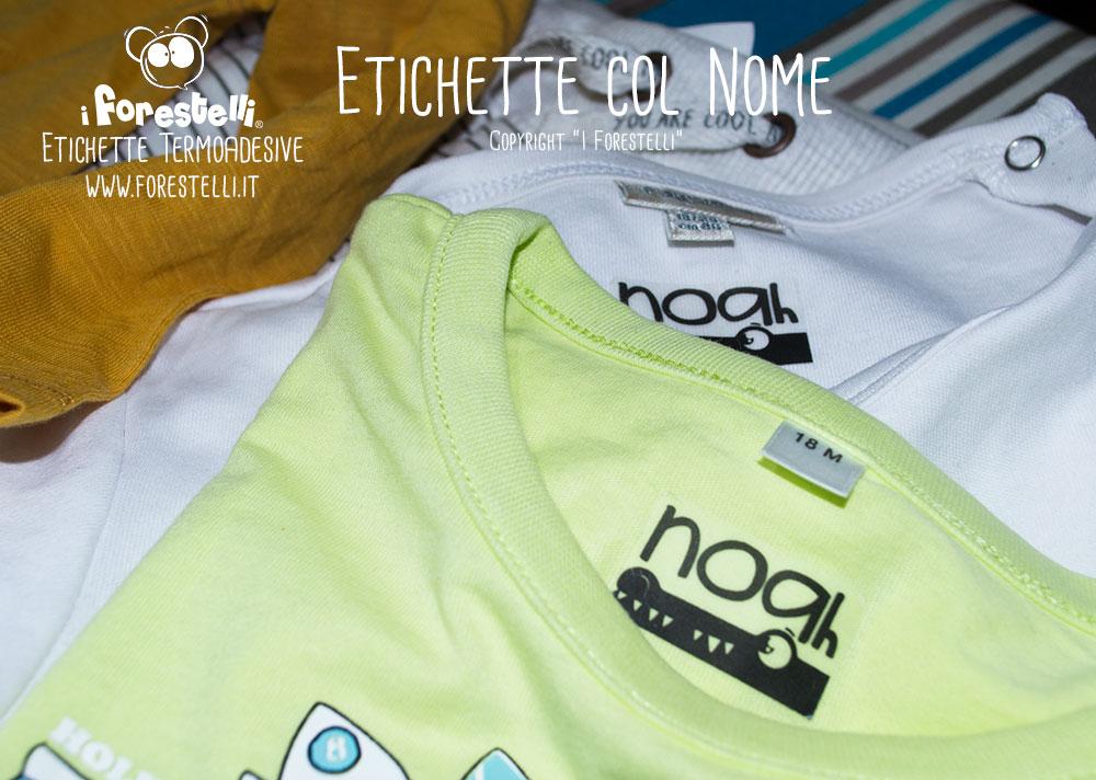 comprare lusso godere di un prezzo economico Etichette Termoadesive - Scriviamo il nome sui vestiti per ...