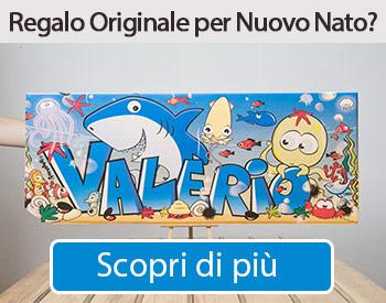 quadri personalizzati col nome per bambini