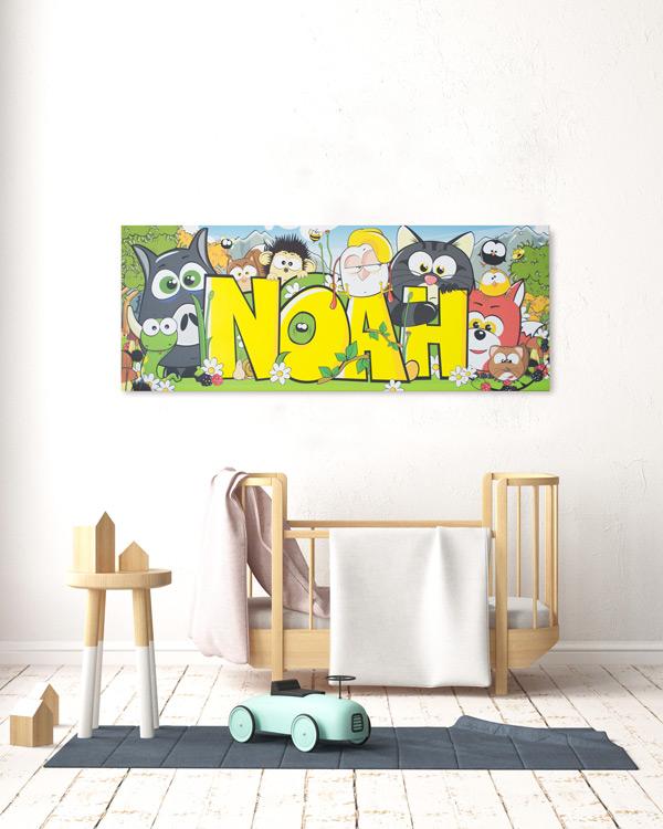 quadri personalizzati forestele