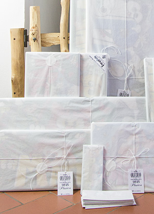 packaging quadri personalizzati forestelli col nome del bambino
